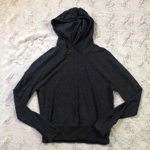 Lululemon Dark Grey Pullover Hoodie